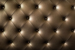 Genuine leather upholstery background for a luxury decoration in Stock Image