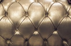 Genuine leather upholstery, background Royalty Free Stock Photography