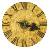 Genuine medieval clock face Royalty Free Stock Photos