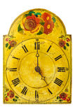 Genuine ornamental seventeenth century clock Royalty Free Stock Image
