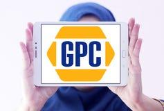 Genuine Parts Company, GPC, λογότυπο Στοκ φωτογραφίες με δικαίωμα ελεύθερης χρήσης