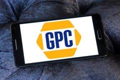Genuine Parts Company, GPC, logo illustration stock