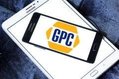 Genuine Parts Company, GPC, logo illustration libre de droits