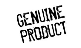 Genuine Product rubber stamp Stock Photography