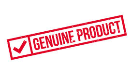 Genuine Product rubber stamp Royalty Free Stock Photo