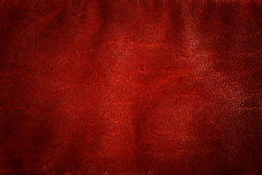 Genuine red leather background, pattern, texture. Natural structure Royalty Free Stock Photos