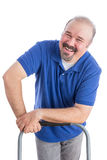 Genuine Toothy Smile from a Male Worker Royalty Free Stock Photos