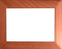 Genuine woodenen frame. In a traditional style Royalty Free Stock Images