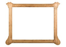 Genuinely antique frame Stock Photo