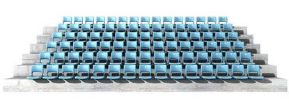 Genummerde stadionzetels royalty-vrije illustratie