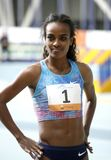 Genzebe Dibaba of Ethiopia Stock Photography