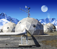 Geo-domes Stock Images