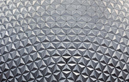 Geo-koepelpatroon van driehoek wordt gemaakt die Royalty-vrije Stock Afbeelding