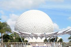 Geo kopuła przy Epcot w Orlando zdjęcia stock
