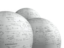 Geo Spheres Stock Image