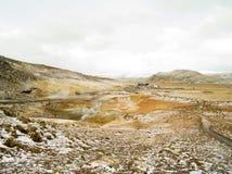 Geo thermisches Süd-Island Stockfotografie