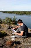 Geocache Image libre de droits