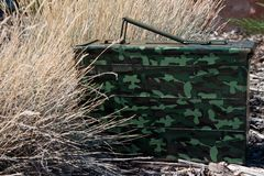 Geocache Ammo Can Hide Stock Photos
