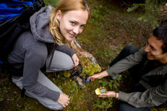 Geocaching Stock Photography