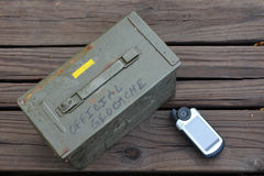 Geocaching Royalty Free Stock Photo