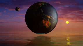 Geocentric Universe Royalty Free Stock Photos