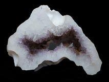 Geode Amethyst photographie stock