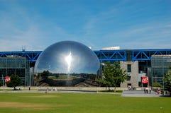 The Geode at the Cite des Sciences et de l'Industrie in Paris Royalty Free Stock Photos