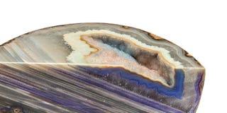 Geode da ágata Fotos de Stock Royalty Free
