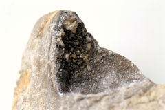 Geode de quartzo Fotografia de Stock Royalty Free