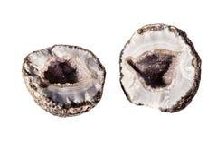 Geode di Splitted Fotografie Stock Libere da Diritti