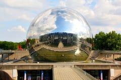 Geode do La no parc de la Villette, Paris Imagem de Stock