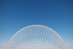 Geodesic dome Royalty Free Stock Photography