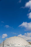 Geodesic Dome De Paris against blue sky. Stock Photos