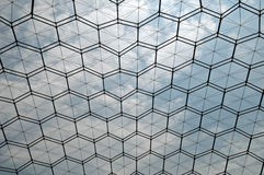 Geodesic Dome. Image of an overhead view of a geodesic dome Royalty Free Stock Photos