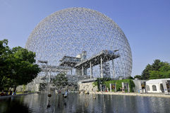 The geodesic dome Royalty Free Stock Photography
