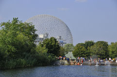 The geodesic dome Stock Image