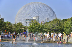 The geodesic dome Stock Photos