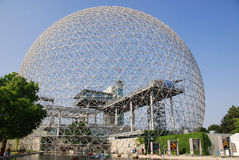 The geodesic dome Stock Photo