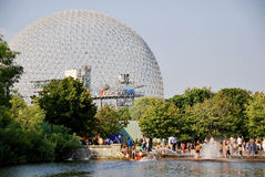 The geodesic dome Royalty Free Stock Image