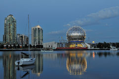 Geodesic dome of science world Stock Photography