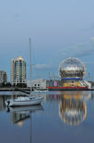 Geodesic dome of science world Stock Image