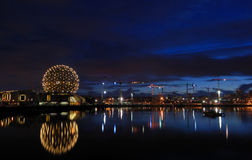 Geodesic dome of science world, vancouver Stock Photography