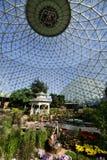 Geodesic Glass Greenhouse stock photos