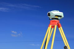 Geodesist measurement Stock Photography