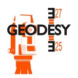 Geodesy symbol for business Stock Photos