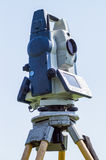 Geodetic instrument Royalty Free Stock Image