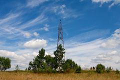 Geodetic points in Russia Royalty Free Stock Photography