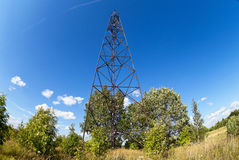 Geodetic points in Russia Royalty Free Stock Images