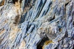 Geodkristaller arkivbild