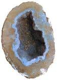 Geody Gemstone Odizolowywający Obrazy Royalty Free